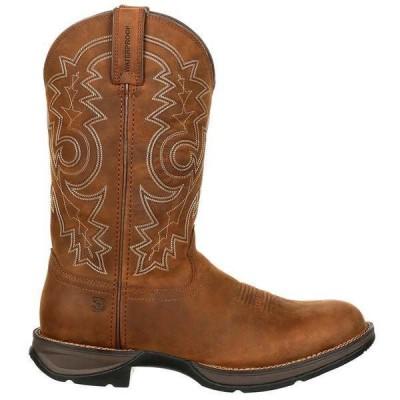 ドゥランゴ メンズ ブーツ・レインブーツ シューズ Rebel Round Toe Cowboy Boots