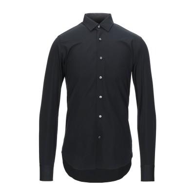 ALESSANDRO GHERARDI シャツ ブラック 38 コットン 100% シャツ