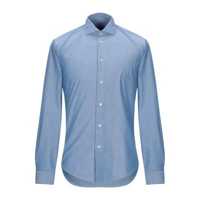 ブライアン デールズ BRIAN DALES シャツ ブルー 39 コットン 100% シャツ