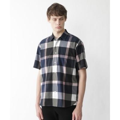 シャツ ブラウス ライトウェイトハイストレッチクレストブリッジチェックシャツ