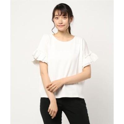 tシャツ Tシャツ ふんわりとしたワッフル生地のTシャツ