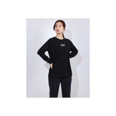 ピーナッツ PEANUTS レディース バスケットボール 長袖Tシャツ PN-8KW2630TL (ブラック)