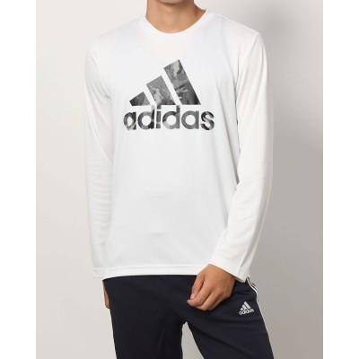 アディダス adidas メンズ 長袖機能Tシャツ MESSCAMOロングTシャツ HB5080 (ホワイト)