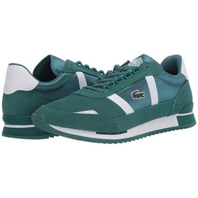ラコステ Partner Retro 120 1 メンズ スニーカー 靴 シューズ Green/White