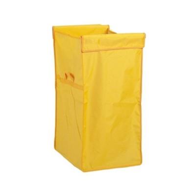 システムカート ワイド(袋E)旧品名:UF多分別回収カート(袋) 120L 黄 サイズ:約W360×D490×H700mm 重量:約390g 容量:約120L