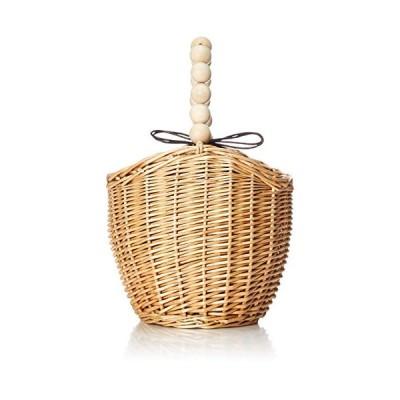 HALIN ハリン/かごバッグ レディース トートバッグ 大人 浴衣 巾着 コンパクト 20128-12027 220 ナチュラル