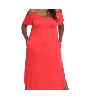 ホワイトマーク ワンピース トップス レディース Plus Size Lexi Maxi Dress Red