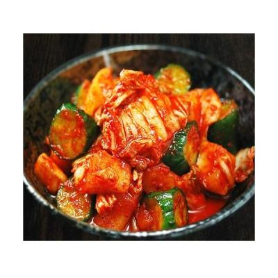 白菜・大根・胡瓜のミックスキムチ500g 3種類を一緒に楽しむ本格手作りキムチ冷蔵限定