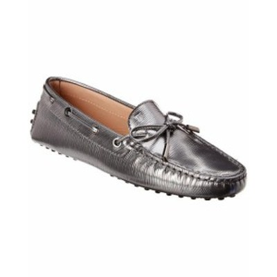 Tods トッズ シューズ シューズ/サンダル Tods Gommino Metallic Leather Moccasin