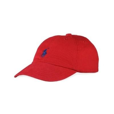 Ralph Lauren Polo Baseball Cap Red Boys Size 4-7【並行輸入品】