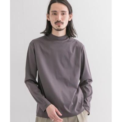 【アーバンリサーチ/URBAN RESEARCH】 UR スムースモックネックロングスリーブTシャツ