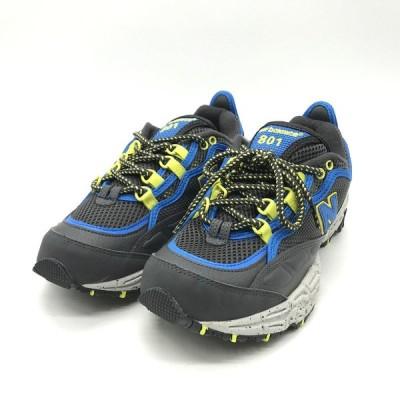 ニューバランス ML801GLC スニーカー シューズ タグ付き 未使用 メンズ 26cm グレー NEW BALANCE 靴 B3845◆