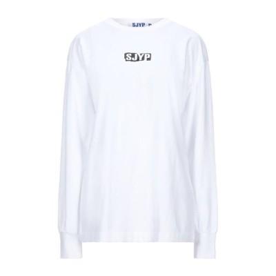 SJYP Tシャツ ファッション  レディースファッション  トップス  Tシャツ、カットソー  半袖 ホワイト
