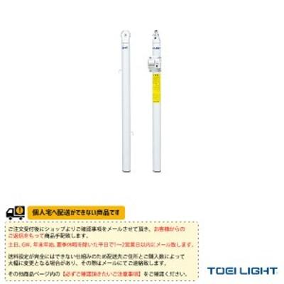 [TOEI(トーエイ) テニス コート用品][送料別途]テニス支柱/体育館用差込式/2本1組(B-4027)