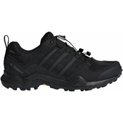 アディダス メンズ ブーツ・レインブーツ シューズ adidas Terrex Men's Swift R2 GTX Waterproof Hiking Shoes Black/Black/Black