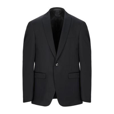 パル ジレリ PAL ZILERI テーラードジャケット ブラック 50 ウール 65% / レーヨン 35% テーラードジャケット