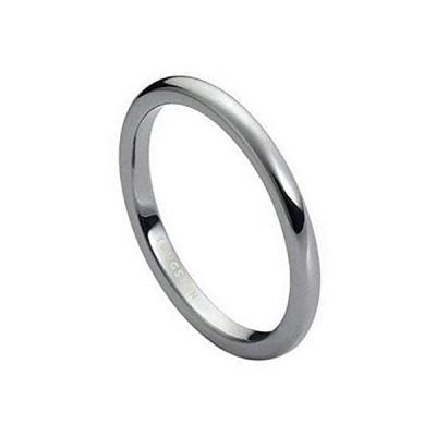 特別価格The Bling Factory High-Polished Tungsten Silver Domed Band Ring, Size 9.5好評販売中