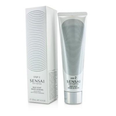 フェイシャルクレンザー 125ml センサイ シルキー ピュリファイング マッドソープ  - 洗顔&マスク (新パッケージ)