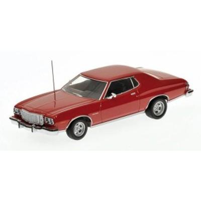 ミニチャンプス [Minichamps]1/43  フォード トリノ 1976 レッド【400085200】