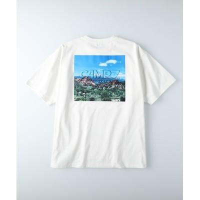 エンボスフォトTシャツ