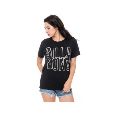 ビラボン(BILLABONG) Tシャツ レディース 半袖 ベーシックロゴ BA013201 BLK オンライン価格 (レディース)