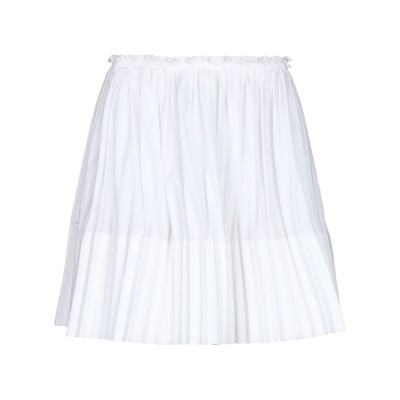 クロエ CHLOÉ ミニスカート ホワイト 38 コットン 100% ミニスカート