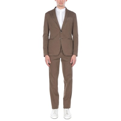 ローダ RODA スーツ カーキ 46 コットン 98% / ポリウレタン 2% スーツ