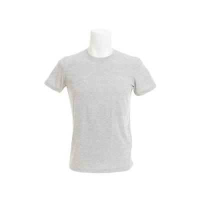 クー(Coo.) 無地 クルーネック Tシャツ 871Q8JY2069MGRY  半袖 (メンズ)