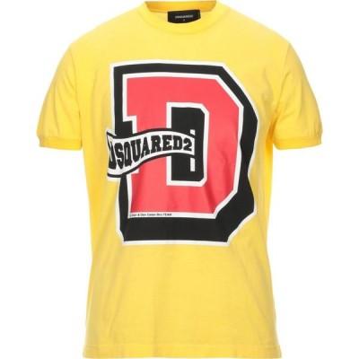 ディースクエアード DSQUARED2 メンズ Tシャツ トップス T-Shirt Yellow