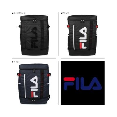 (FILA/フィラ)フィラ FILA リュック バッグ バックパック メンズ レディース 30L BAG PACK ブラック ネイビー 黒 7572/ユニセックス ブラック