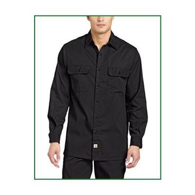 Carhartt メンズ ツイル 長袖 ワークシャツ ボタンフロント S224 US サイズ: Small カラー: ブラック