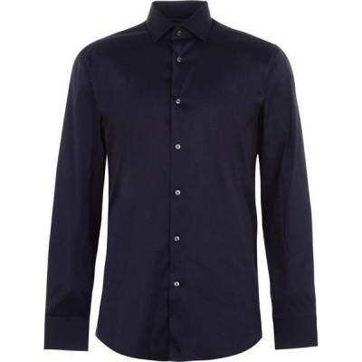 ヒューゴ ボス Boss メンズ シャツ トップス Jontry Shirt Navy