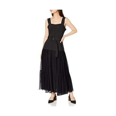 [フレイ アイディー] チュールスカートタイトドレス FWFO201525 レディース BLK 日本 1 (日本サイズ9 号相当)
