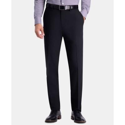 ハガー メンズ カジュアルパンツ ボトムス Men's Active Series Herringbone Slim-Fit Suit Separate Pants