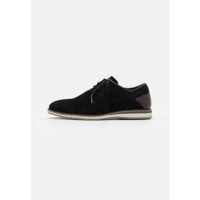 ブルボクサー メンズ 靴 シューズ Casual lace-ups - black