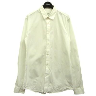 JIL SANDER プレーンシャツ ホワイト サイズ:39 (渋谷神南店) 210424