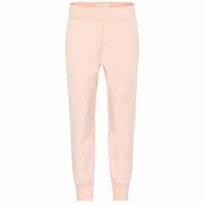 ラグ&ボーン スウェット・ジャージ Cotton-blend terry trackpants dusky pink
