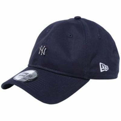 【新品】ニューエラ 930キャップ クローズストラップ メタルロゴ ニューヨークヤンキース ネイビー シルバー New Era NewEra