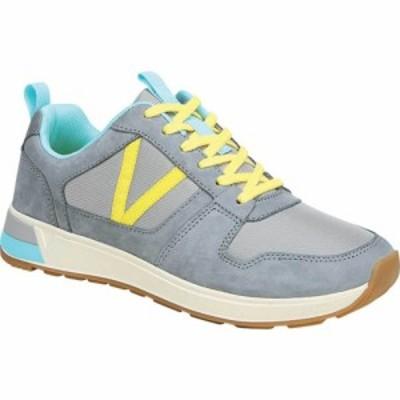 バイオニック Vionic レディース スニーカー レースアップ シューズ・靴 Rechelle Lace Up Sneaker Light Grey Nylon/Nubuck