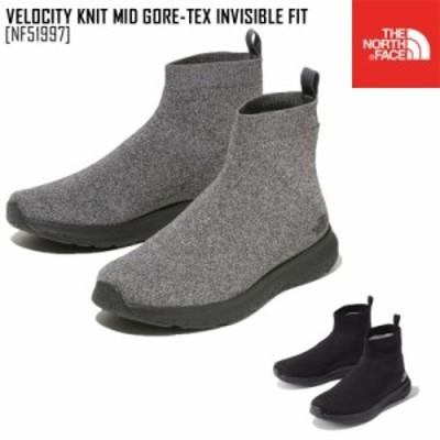 ノースフェイス ベロシティ ニット ミッド GORE-TEX インビジブル フィット VELOCITY KNIT MID GORE-TEX INVISIBLE FIT ブーツ 靴 NF5199