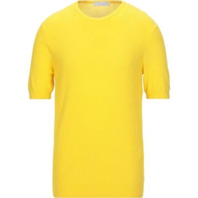 フィリッポ デ ローレンティス FILIPPO DE LAURENTIIS メンズ ニット・セーター トップス Sweater Yellow
