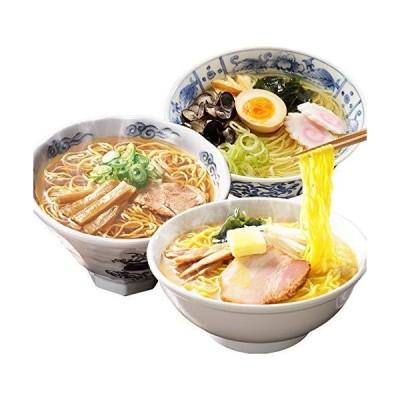 高砂食品 青森ご当地ラーメン3種お試しセット 3食(しじみ・焼干し・味噌カレー) 半生麺常温保存可能
