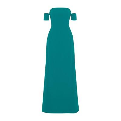 SACHIN & BABI ロングワンピース&ドレス ディープジェード 2 トリアセテート 70% / ポリエステル 30% ロングワンピース&ドレス