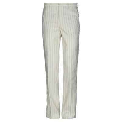 パオローニ PAOLONI パンツ ホワイト 46 コットン 65% / ポリウレタン 35% パンツ