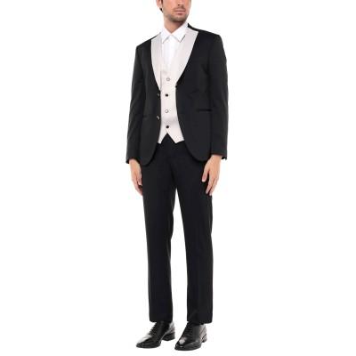 MUSANI スーツ ダークブルー 48 レーヨン 63% / ポリエステル 37% スーツ