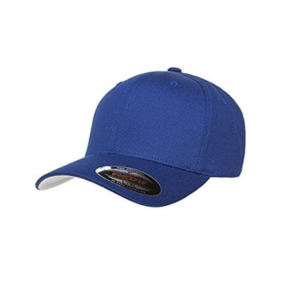 Blank V-Flexfit Cotton Twill Fitted Baseball Hat | Stretch Fit, Athletic Ba