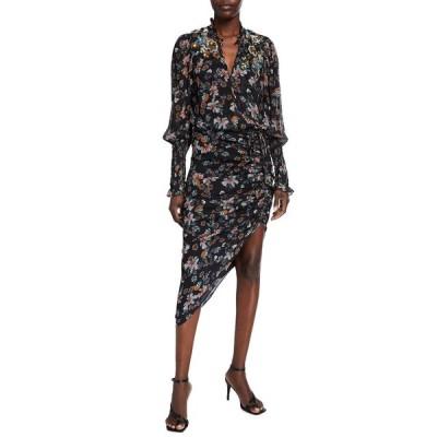 ヴェロニカ ベアード レディース ワンピース トップス Shaia Long-Sleeve Ruched Dress