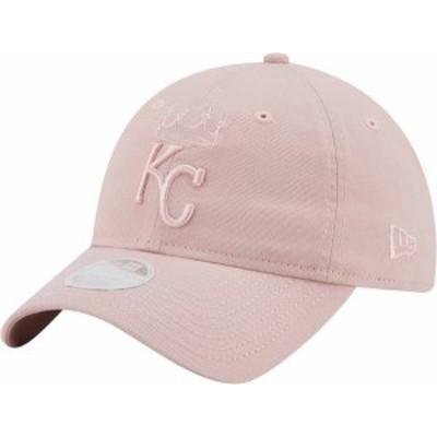 ニューエラ レディース 帽子 アクセサリー New Era Women's Kansas City Royals Pink Core Classic 9Twenty Adjustable Hat