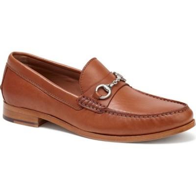 トラスク TRASK メンズ ローファー シューズ・靴 Seaton Bit Loafer Cognac