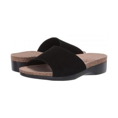 Munro ムンロ レディース 女性用 シューズ 靴 サンダル Laya - Black Suede